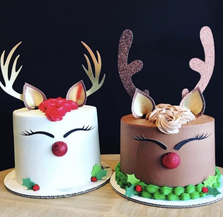 Layer Cake Renne de Noël